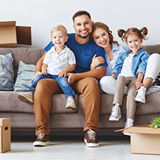 Home Loans: A Happy Family